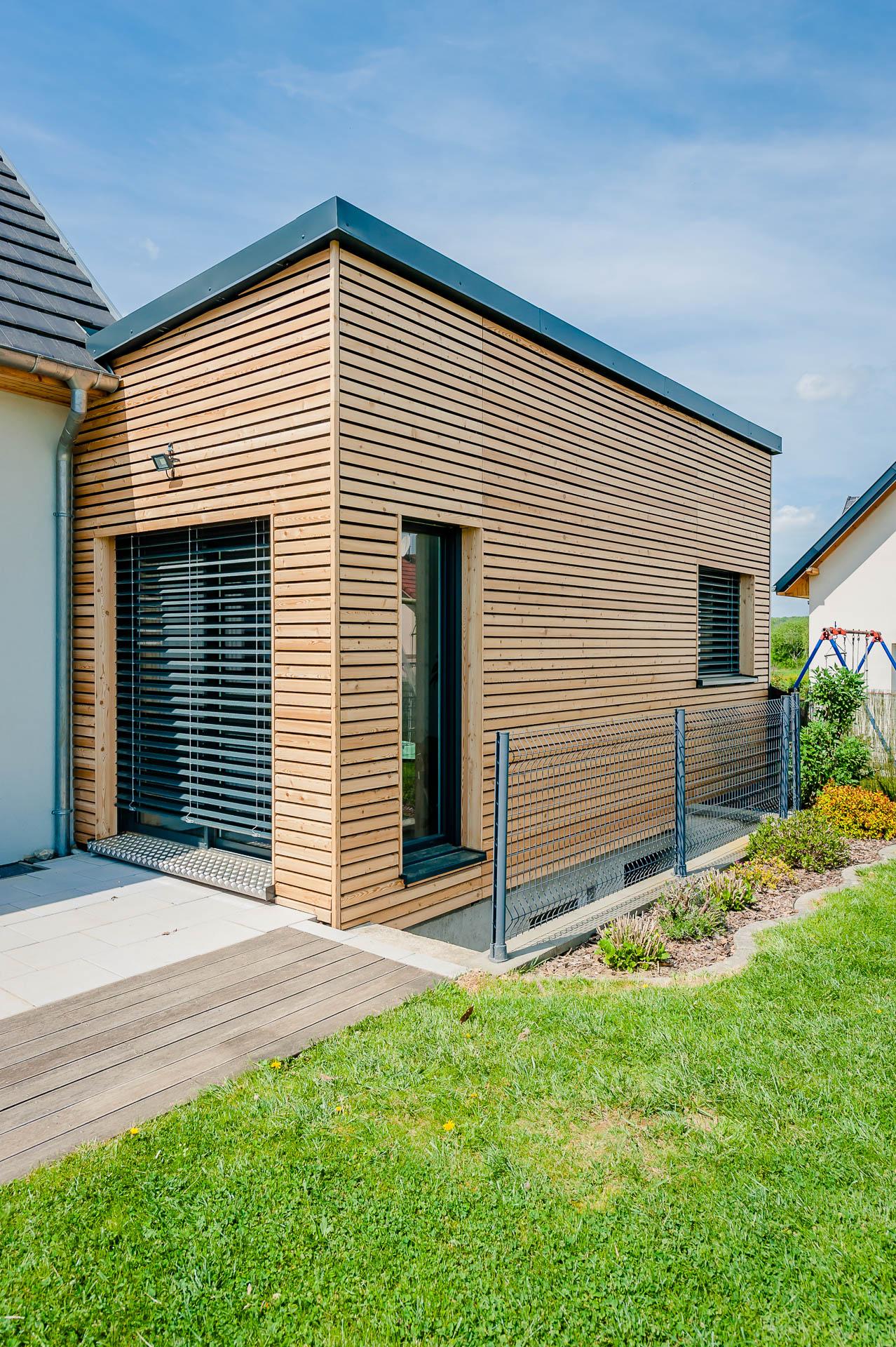 Extension maison ossature bois alsace ventana blog for Constructeur maison bois alsace