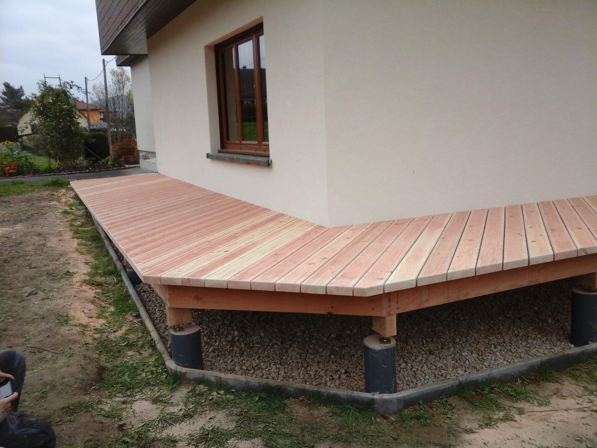 pose de terrasse à Altkirch